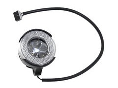BROMPTON Shimano front dynamo LED lamp, with switch, comes with lead