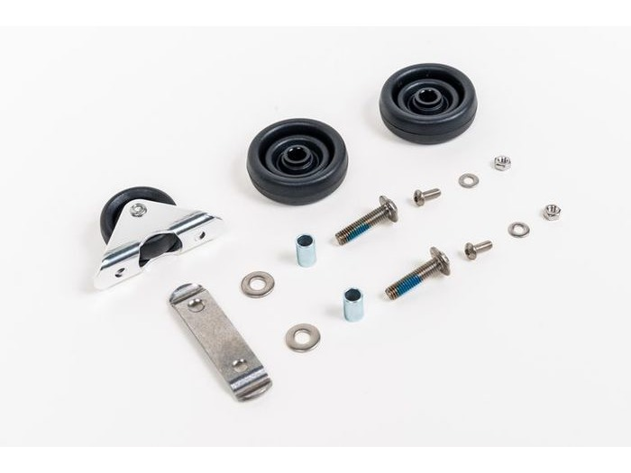BROMPTON Rollers with fittings - L/E Version (Pair) click to zoom image