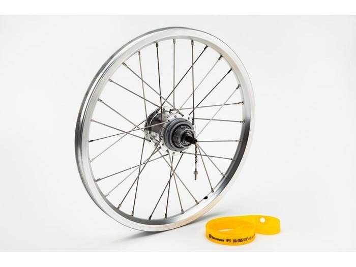 BROMPTON 3 speed rear wheel with Brompton Wide Range hub click to zoom image